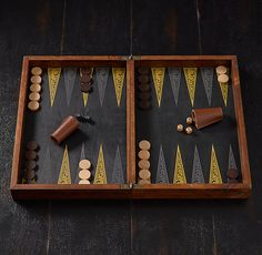 The French Tournament Edition Backgammon & Chess, Restoration Hardware at The Promenade at Westlake and Santa Barbara.