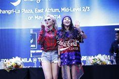 CL & Dara @ presscon