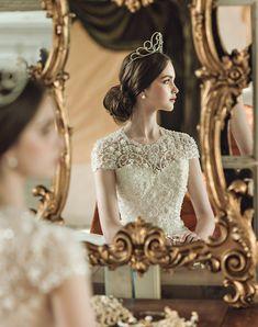 Wedding wedding aesthetic 18 Stunning Wedding Dresses with Dramatic Neckline Designs! Stunning Wedding Dresses, Designer Wedding Dresses, Bridal Dresses, Wedding Gowns, Neckline Designs, Princess Aesthetic, Ideias Fashion, Dream Wedding, Wedding Girl