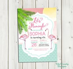 Hey, I found this really awesome Etsy listing at https://www.etsy.com/listing/246346621/flamingo-invitation-pink-flamingo