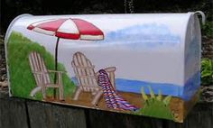 hand painted mailboxes - Bing Images