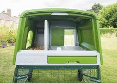 The Autodoor attaches directly to the inside of the Eglu Cube Automatic Chicken Coop Door, Chicken Runs, Coops, Door Design, Cube, Building, Fence, Friday, Explore