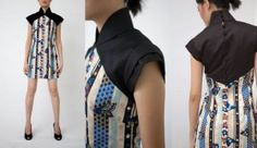 cheongsam inspired shirt