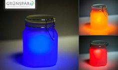 Solarleuchte Sun Jar. Weitere Infos hier http://kurzundknap.blogspot.de/2012/09/cacciatore-del-sole.html