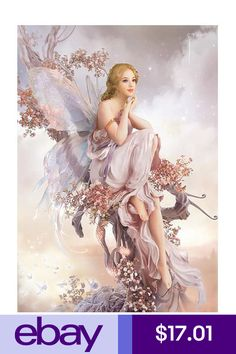≍ Nature's Fairy Nymphs ≍ magical elves, sprites, pixies and winged woodland faeries - Elfen Fantasy, 3d Fantasy, Fantasy Girl, Fantasy Fairies, Fantasy Artwork, Magical Creatures, Fantasy Creatures, Fairy Dust, Fairy Tales