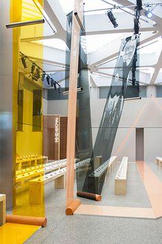 Superwalk Installation by Formafantasma