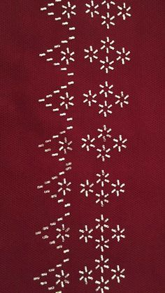 Swedish Weaving, Chain Stitch, Embroidery Designs, Elsa, Diy Crafts, Embroidery Ideas, Hand Embroidery, Border Tiles, Hardanger