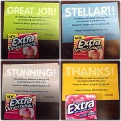 thanks for always going the extra mile happy employee appreciation day employee recognition