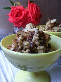 Millet Pudding, vegan dessert for breakfast, lunch and dinner.
