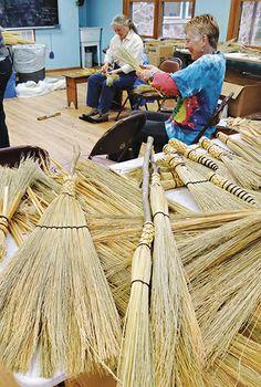27 Best Broom Making images in 2012   Paint brushes, Brushes, John