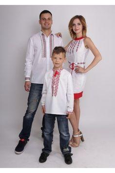 Сімейний комплект «Чарівна стежка»: 2 вишиванки та сукня Prepping, Style, Fashion, Swag, Moda, Fashion Styles, Fashion Illustrations, Outfits, Prep Life