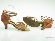 Elegant Dance Ladies Dance Shoes (Classic): Latin Shoes(Open Toe) M1101-01_DrBro