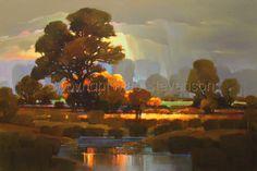 "Contemporary Painting - ""Calm Before the Storm"" (Original Art from Mac Stevenson)"