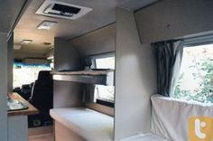Toyota Coaster Campervan