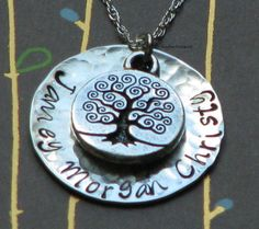 This would be amazing as a key chain for Grandparents.  Maybe stating: A new branch of your tree started (insert wedding date)?  I think I will have to contact the seller!