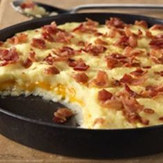 Cheddar-Mashed Potato Casserole - when I clicked on the photo - nothing came up - go to keyingredient.com for the recipe