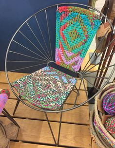 woven metal furniture. worldmarket metal woven chindi chair textiles colors india furniture m