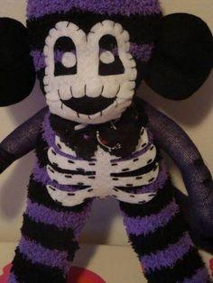Halloween Mr. Bone-Jangles Sock Monkey's!!! - TOYS, DOLLS AND PLAYTHINGS