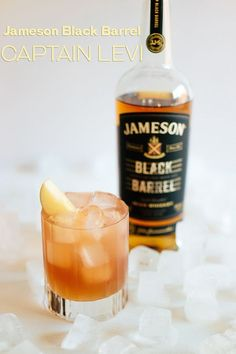 Our Captain Levi cocktail combines the fall flavors of the apple orchard with the smoothness of Jameson Black Barrel.