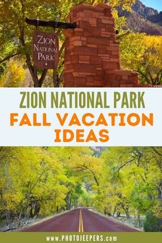 You'll love this jam-packed guide to Zion National Park in the fall: What to Pack for a Trip to Zion in the Fall | Fall Weather at Zion National Park | Zion National Park Fall Colors | Things to Do at Zion National Park in the Fall | Best Fall Hikes in Zion | Plan a Trip to Zion in the Fall #nationalparks #utah #zion #photojeepers
