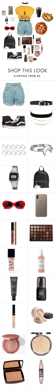 """It's a lot to ask"" by shellygeigel ❤ liked on Polyvore featuring B-Low the Belt, Vans, Charlotte Russe, ASOS, Grace + Scarper, Casio, BP., Morphe, NARS Cosmetics and Mario Badescu Skin Care"