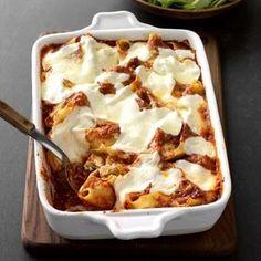 Mom's White Lasagna Recipe: How to Make It | Taste of Home Lasagna Recipe Taste, Baking Recipes, Cake Recipes, Apple Recipes, Dessert Recipes, Dinner Recipes, Casserole Recipes, Enchilada Casserole, Potato Casserole
