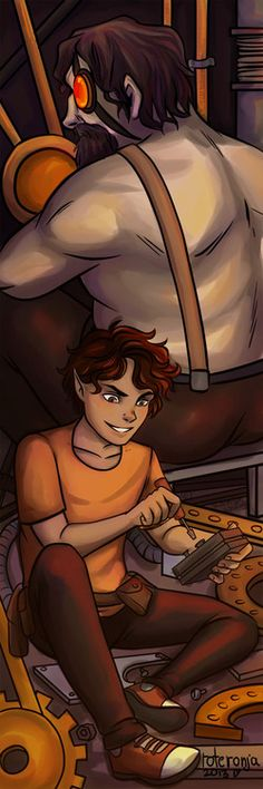 Leo and Hephaestus would look great as a bookmark