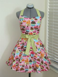 I need more retro things especially aprons AND cupcakes :)