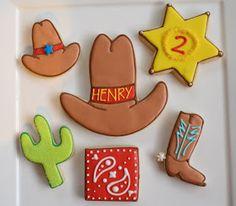just-iced cookies: Cowboy Cookies Cowgirl Cakes, Cowgirl Party, Cowboy And Cowgirl, Cowboy Cupcakes, Cowboy Theme, Cowboy Boots, Cow Cookies, Cupcake Cookies, Sugar Cookies