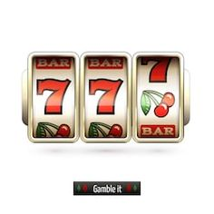 Game gamble casino slot machine realistic isolated on white background illustration stock vector - 32944860 Las Vegas, Game Design, Logo Design, Graphic Design, Game Fruit, Videos Fun, Video Vintage, Party Friends