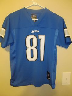 Calvin Johnson - Detroit Lions jersey - NFL Inc. Youth Large #NFLInc #DetroitLions