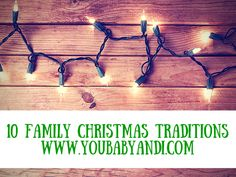 Every family as their own traditions and today I'm sharing some of mine with you. #Christmas #Christmastraditions