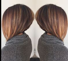 Stacked Inverted Bob