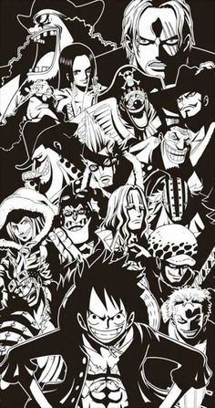 44 trendy wallpaper iphone anime one piece wallpapers Iphone Wallpaper, Anime Wallpaper Iphone, One Piece Wallpaper Iphone, Anime One, Anime, Anime Characters, Black And White One Piece, Manga, One Piece Luffy