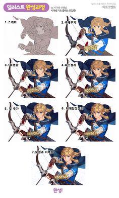 Pixel Art Games, Anime Comics, Art Tips, Legend Of Zelda, Drawing Tips, Art Tutorials, Game Art, Art Reference, Digital Art