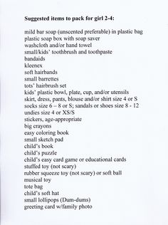 I buy many of these items on sale throughout the year and store them in plastic bins labelled girl or boy and the age.