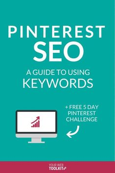 Need to uplevel your Pinterest strategy? Read this complete guide to Pinterest SEO best practices. You'll learn how Pinterest SEO works, and why keywords are the secret sauce to bringing free traffic back to your website. via @yourwebtoolkit #SEOBestPractices