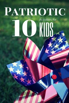 Patriotic activities to do with kids for Memorial Day or 4th of July. Taking time to make every day moments, learning opportunities #EDUSpin.