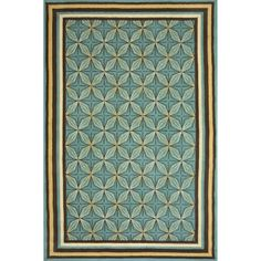 Illusion Spruce Outdoor Rug by Sawgrass Mills
