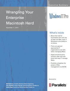 Wrangling Your Macintosh Herd