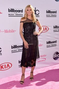 Heidi Klum no Billboard Music Awards (Foto: AFP)