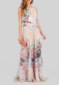 vestido-irlanda-longo-floral-acetinado-powerlook-rosa
