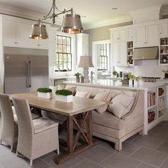 Gourmet Kitchen, Transitional, kitchen, Michael J. Siller Interiors