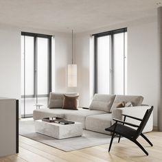 living room Living Room Sofa Design, Home Room Design, Living Room Interior, Home Living Room, Living Room Designs, Luxury Interior, Interior Design, Living Room Decor Inspiration, Living Room Background