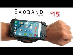 Abel john is raising funds for Exoband : Next gen armband in the making. (Canceled) on Kickstarter! Holds all standard size smart phone & designed to fit arm & wrist. Next generation Armband in the making Android Camera, Best Cell Phone, New Mobile, Tech Gadgets, Health And Safety, Phone Holder, Inventions, Fitbit, Smartphone