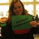 Kampania społeczna NOŚ ODBLASKI z XIII Liceum Ogólnokształcącego w Gdyni