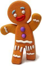 "Gingerbreadman Postcard Run  Little school that ""tracks"" where the Gingerbreadman has been. Too cute to pass up."