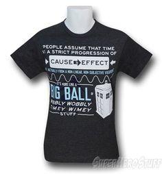Doctor Who Timey Wimey 30 Single T-Shirt