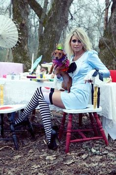 Monkey Doodles: A Mad Tea Party - Etsy Sellers Team Up for an Alice in Wonderland-Themed Photoshoot