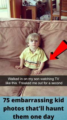 75 #embarrassing kid #photos that'll #haunt them one #day Cute Funny Babies, Funny Kids, Kid Photos, Funny Photos, Tattoo Fails, Funny Memes, Hilarious, Disney Princess Pictures, Best Places To Travel